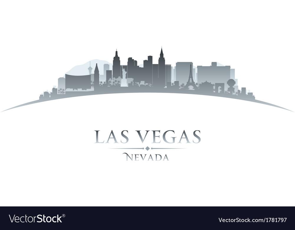 Las vegas nevada city skyline silhouette vector | Price: 1 Credit (USD $1)