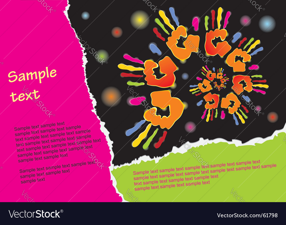 Background template vector