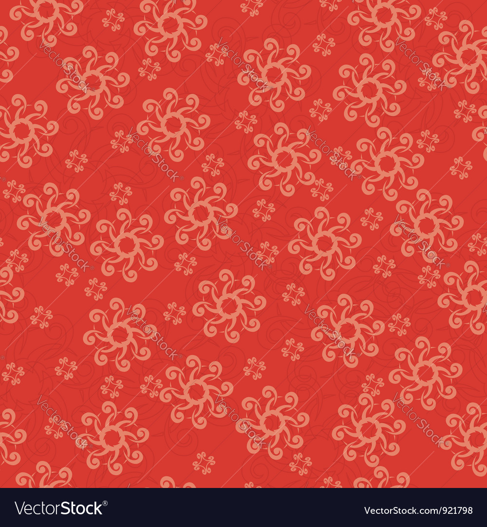 Red geometric seamless texture vector | Price: 1 Credit (USD $1)