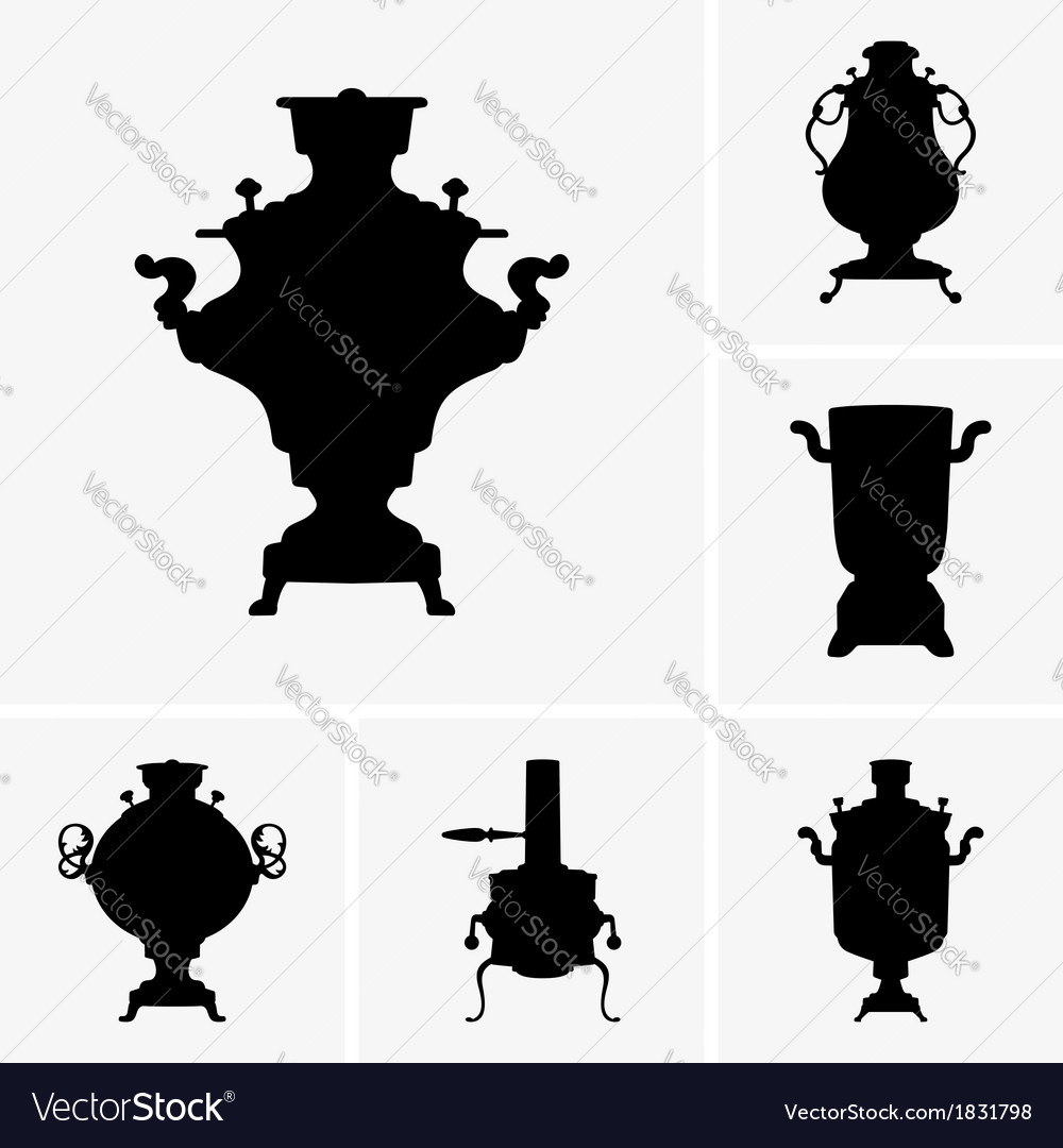 Samovar vector | Price: 1 Credit (USD $1)