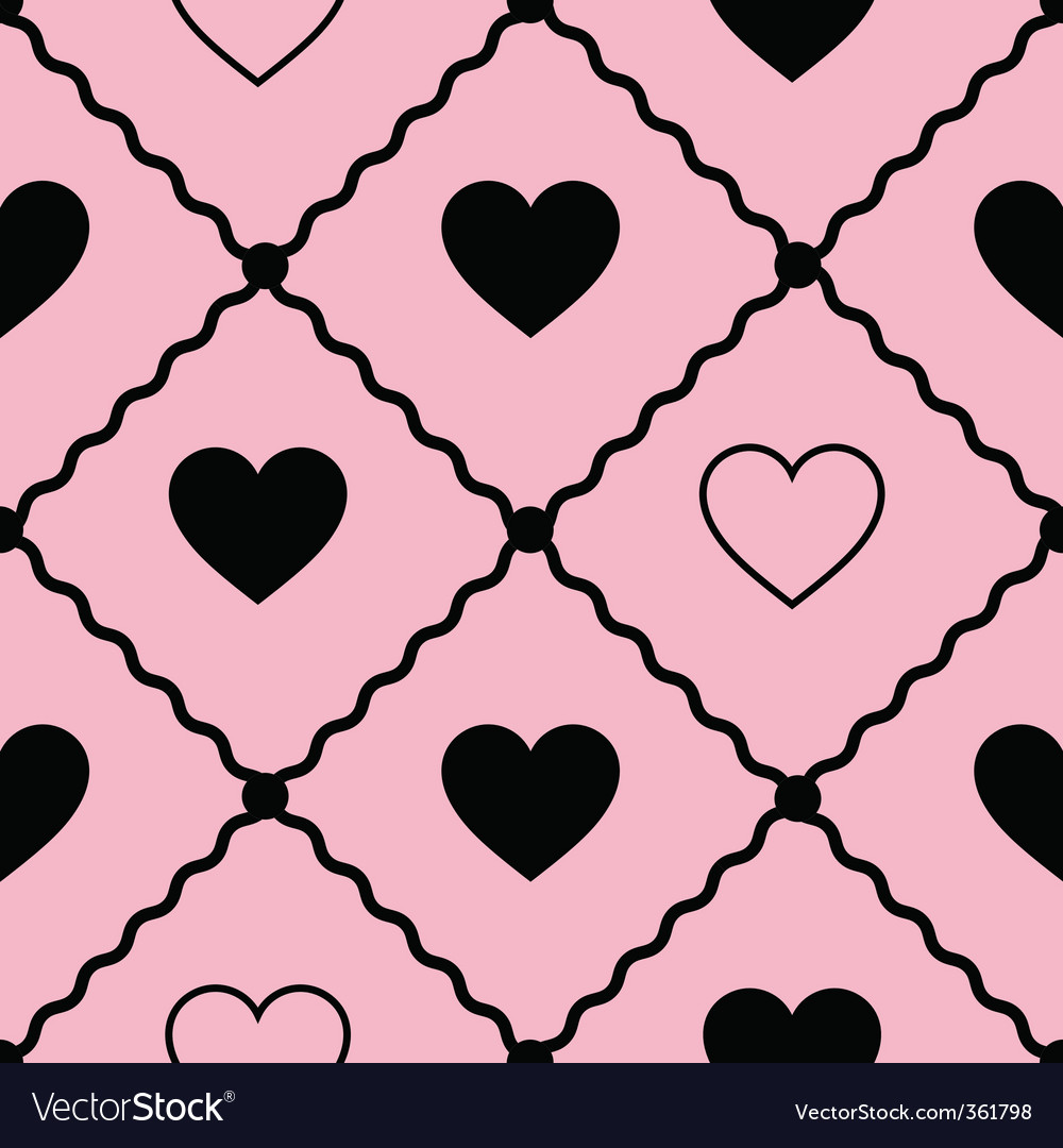 Ss vector background with hearts vector | Price: 1 Credit (USD $1)