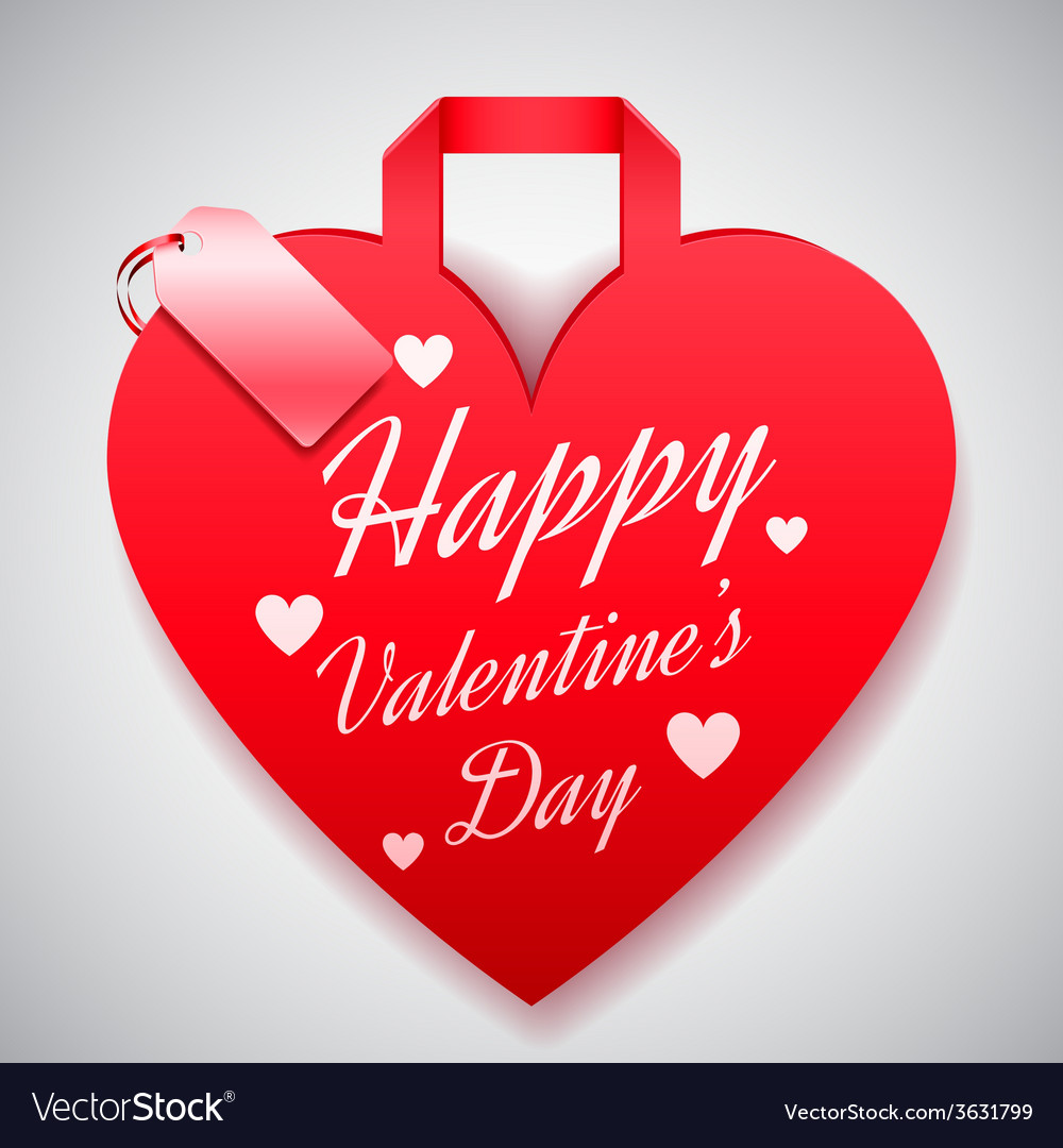 Valentines day shopping concept vector | Price: 1 Credit (USD $1)