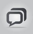 Icon message vector