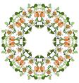 Ottoman motifs design series eighty vector