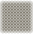 Abstract vintage geometric wallpaper pattern vector