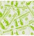 Financial concept of earnings american dollars vector