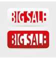 Big sale tags vector