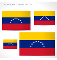 Venezuela flag template vector