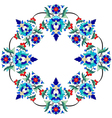 Ottoman motifs design series seventy three vector