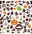 Halloween seamless pattern vector