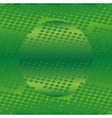 Abstract green technical with dots background vector