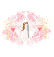 Ballroom dancers - invitation vector