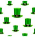 Patrick hat background vector