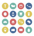 Bath and shower icons vector