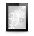 Digital tablet concept vector
