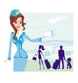 Family vacation vector