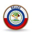 Belize seal vector