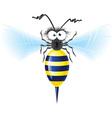 Cheerful bee vector