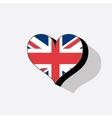 United kingdom or uk flag vector