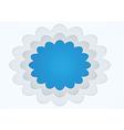 Picture frame cloud shape vector