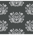 Floral retro paper pattern vector