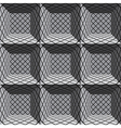 3d architectural seamless pattern vector