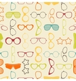 Colorful sunglasses and glasses seamless pattern vector