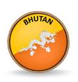 Bhutan seal vector
