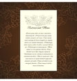 Wine menu card template vector