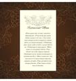 Wine menu card template vector