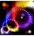 Abstract shiny spiral explosion background - vector