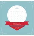 Calendar for 2015 vector