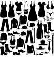 Fashion industry shopping vector