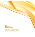 Abstract business orange lines vector