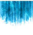 Blue paint splashes background vector