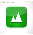 Mountain nature icon vector