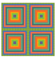 Carpet with ethnic motifs vector
