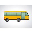 Bus design vector