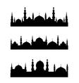 Islamic city vector