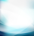 Abstract blue smooth flow background vector