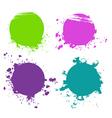 Splash designs set vector