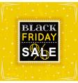 Black friday sale label vector