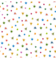 Colourful stars seamless pattern vector