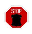 Stop fur vector