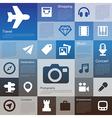 Flat design interface icon set 4 vector