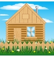 House on nature vector