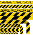 Absperrband barrier tape vector