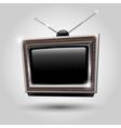 Tv frame tv antennas vector