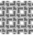 Seamless black and white pattern simple stripes vector