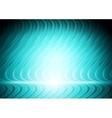 Abstract blue cyan wavy design vector